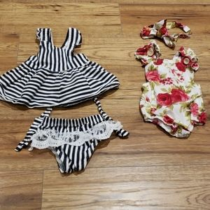 bundle of 2 adorable outfits 3m